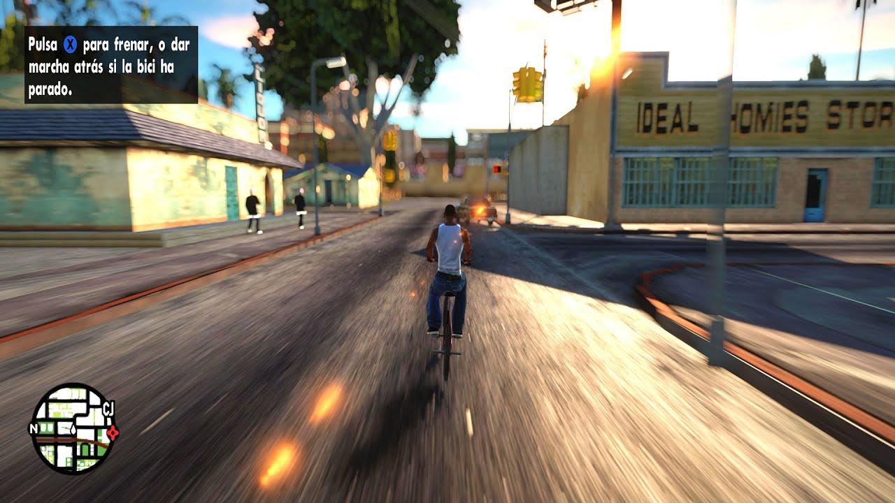 Gta San Andreas 2018 Realistic Graphics Mod 4k