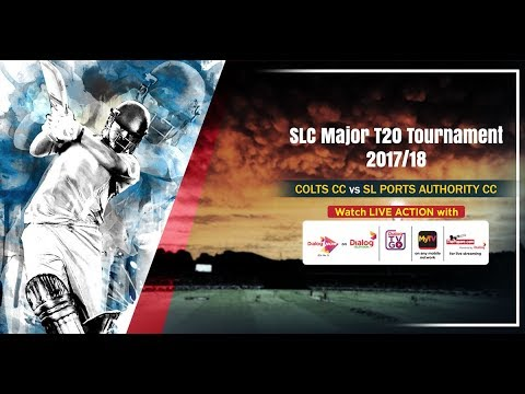 Colts CC vs SL Ports Authority - SLC Major T20 Tournament 2018