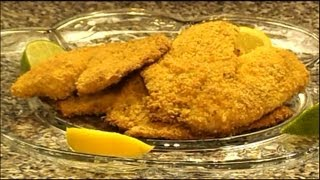 Tortilla And Parmesan Crusted Tilapia Oven-fried
