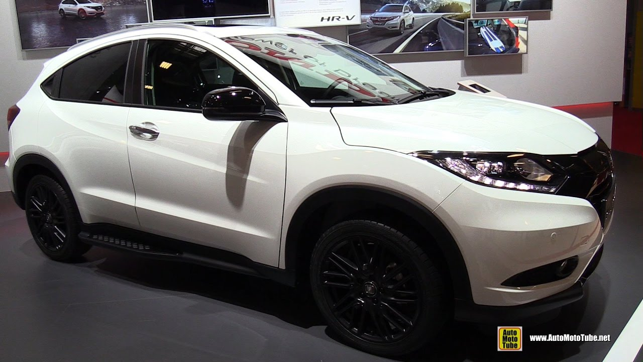 2017 Honda Hr V Exterior And Interior Walkaround 2016 Paris Motor Show