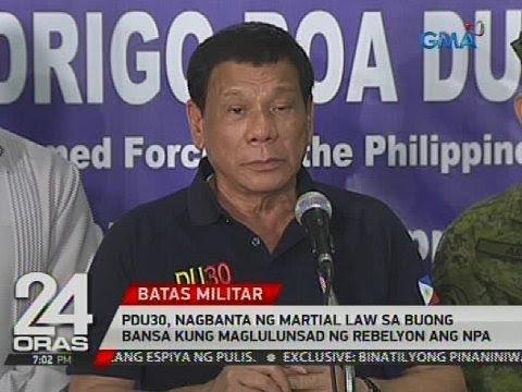 PDu30, pinag-iisipang magdeklara ng holiday sa ika-45 anibersaryo ng Martial Law