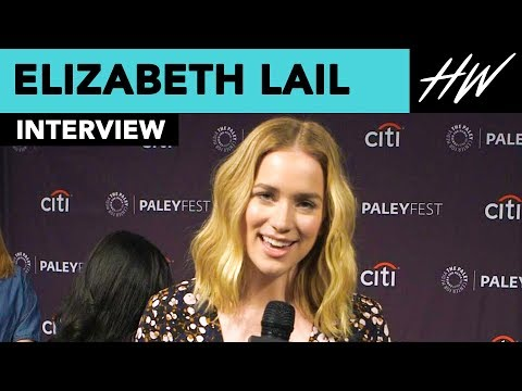 Elizabeth Lail Reveals Penn Badgley And Her's Instant Chemistry  Hollywire