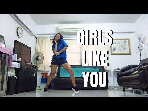 GIRLS LIKE YOU || Matt Steffanina Choreography
