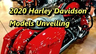 New 2020 Models Unveiling By Harley Davidson
