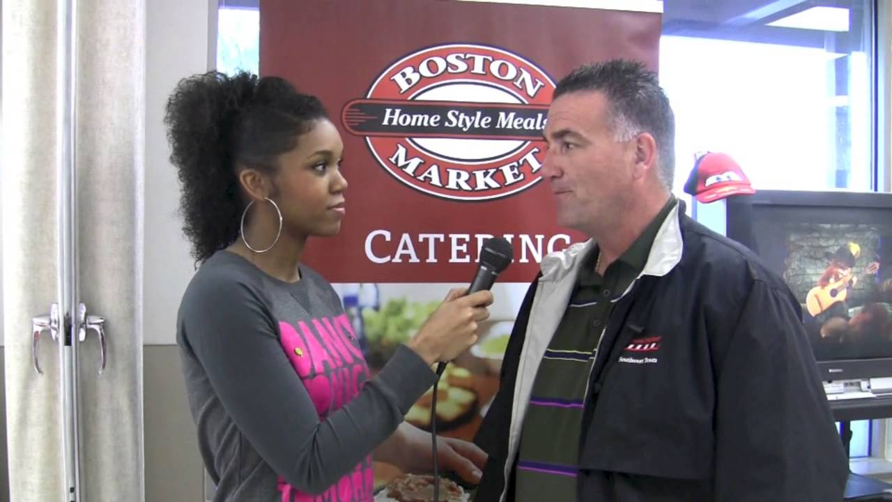 Christmas With Calais - Behind The Scenes with Boston Market - YouTube