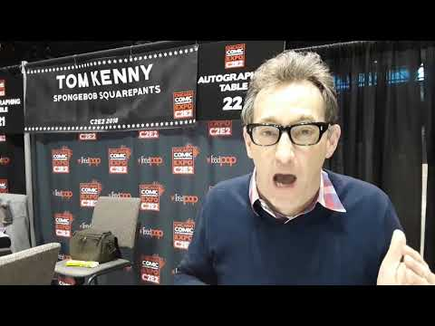 Thumbnail image for 'Happy Boo-Day to Linda (aka Countess Gregula) from Tom Kenny at C2E2 2018'