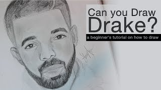 How to Draw - Drake Step by Step