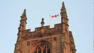 Derby Cathedral bells ring out for Team GB winners.