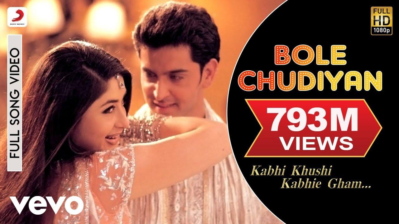 Kg Bole Chudiyan Video Amitabh Shah Rukh Kareena Hrithik Youtube