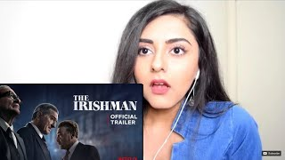 The Irishman | Official Trailer |REACTION
