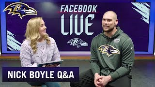 Nick Boyle on First Career Touchdown, the TE Group and more | Baltimore Ravens