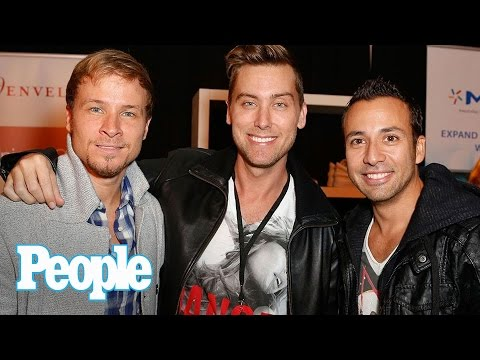 Backstreet Boys: NSYNC's Lance Bass Dishes On Joining Former Rivals On Stage | People NOW | People