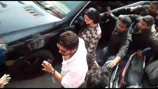 Allu Arjun at Sandhya Theater to watch Khaidi No 150