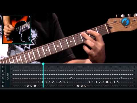 Forfun - Alegria Compartilhada (aula de guitarra)