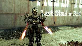 Fallout 4 Что будет если прокачать все перки Качаем Танка 2