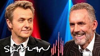 «OH, GOD!» Jordan B. Peterson struggles to answer dilemmas | SVT/TV 2/Skavlan
