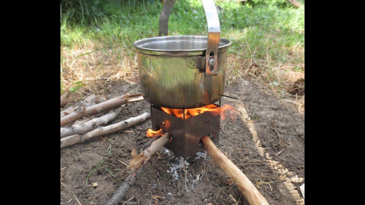 Lightweight Backpacking Stoves: Firebox Nano Ultralight Backpacking Wood Burning Camping