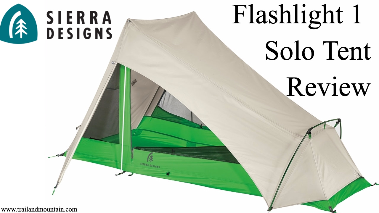 Sierra Designs Flashlight 1 Solo Tent 1st Look u0026 Setup  sc 1 st  YouTube : flashlight tent - memphite.com