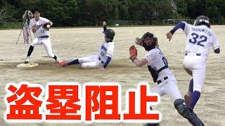 【無限地獄】盗塁って野球未経験者だと何回目で阻止できるの???