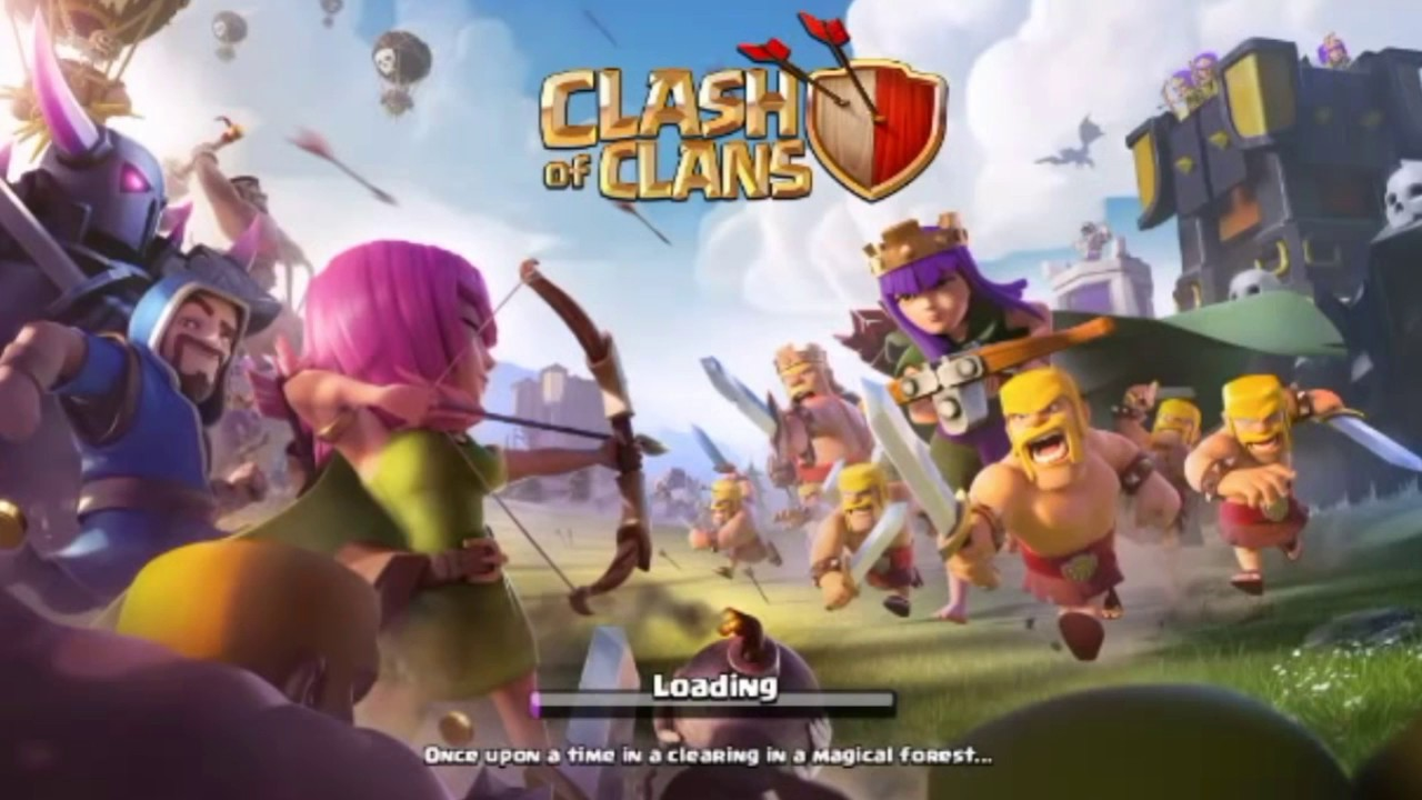 free gems in clash of clans no human verification