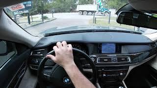 POV Review | BMW 750Li Twin Turbo Test Drive - Filmed w/ GoPro Hero 7 White Edition