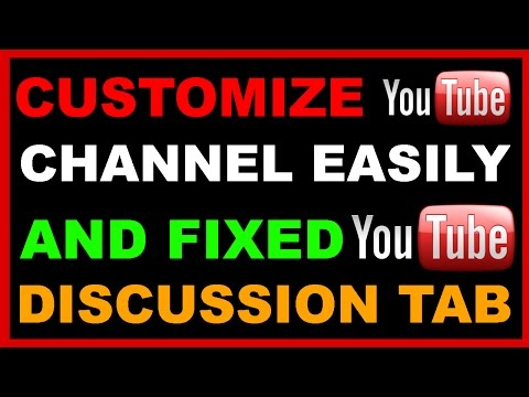 How to Customize the layout of your YOUTUBE channel Hindi Video