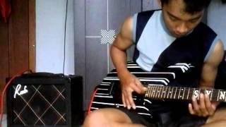 Pas band kembali (gitar cover)