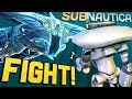 Subnautica - FIGHTING A GHOST LEVIATHAN! Epic Battle in Lost River! - Let's Play Subnautica Gameplay