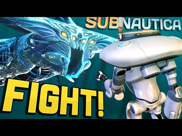 Subnautica - FIGHTING A GHOST LEVIATHAN! Epic Battle in Lost River