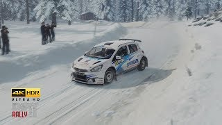 DiRT Rally 2.0 - 4K HDR Rally Sweden Replay