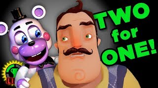 GTLive: Double the FRIGHT!   FNAF 6 + Hello Neighbor