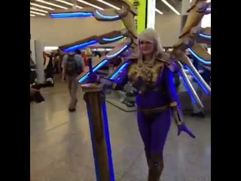 Aether Wing Kayle Cosplay - YouTube