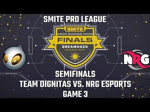 SMITE Pro League Summer Finals 2017: Semifinals - Team Dignitas vs. NRG Esports (Game 3)
