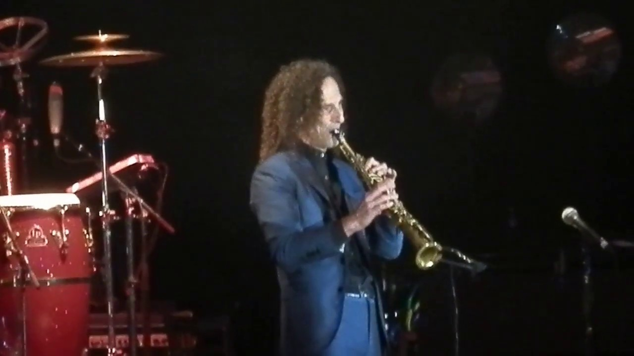 G Force Kenny G Silhouette Amazing Solo Live