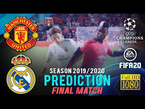 MANCHESTER UNITED vs REAL MADRID |  UCL FINAL MATCH Prediction ● FIFA 20 | RetroGAMEz