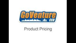 GoVenture CEO Product Pricing Tutorial Video 201409