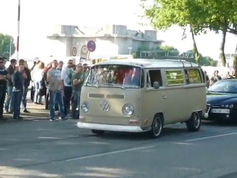 vw bulli t1 mit porsche motor youtube. Black Bedroom Furniture Sets. Home Design Ideas
