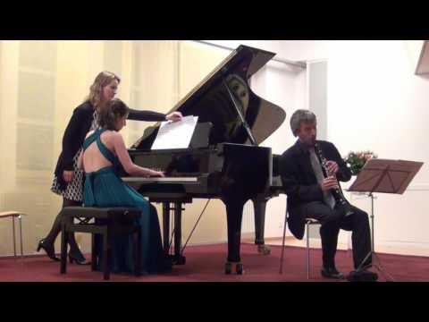 Houtaf Khoury: Clarinet Sonata, Dimitri Ashkenazy & Anna Magdalena Kokits