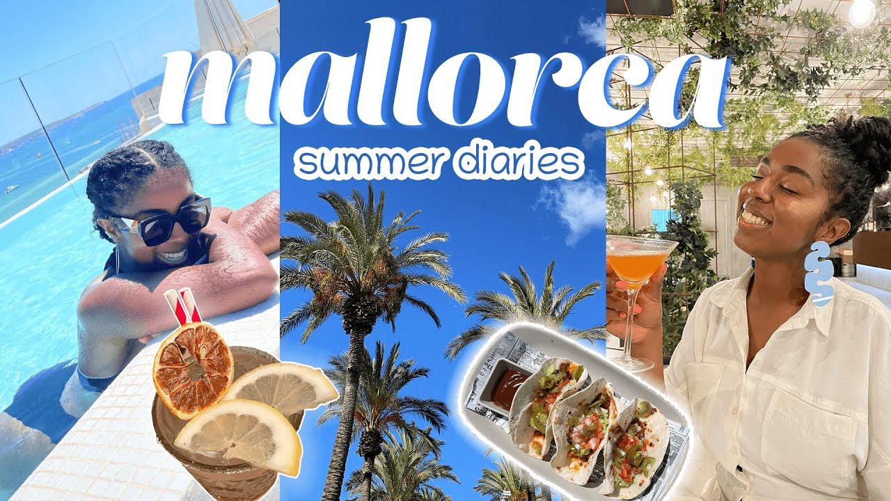 mallorca 2021 travel vlog ☀️ // summer diaries