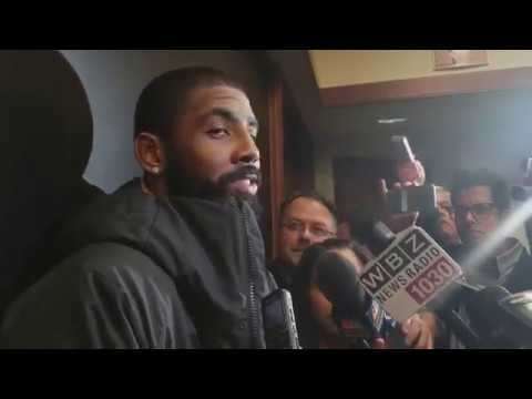 Kyrie Irving TALKS Dennis Smith Jr. ALTERCATION
