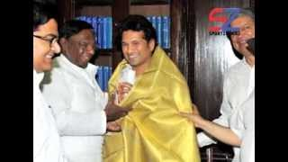 Sachin attends Monsoon Session Parliament
