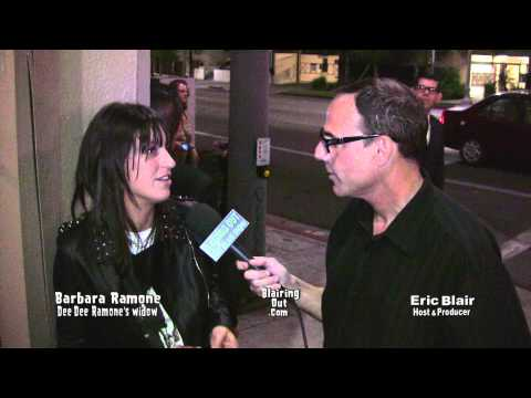 Dee Dee Ramone's widow Barbara Ramone talks w Eric Blair. Dee Dee Ramone A Memorial Exhibition.2012
