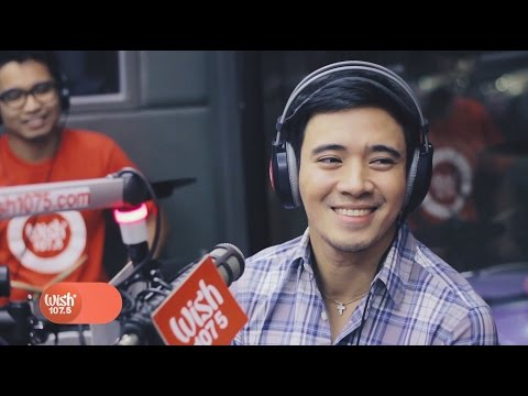 "Erik Santos covers ""Where Do Broken Hearts Go"" LIVE on Wish 107.5 Bus"