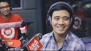 Erik Santos covers Where Do Broken Hearts Go LIVE on Wish 107.5 Bus