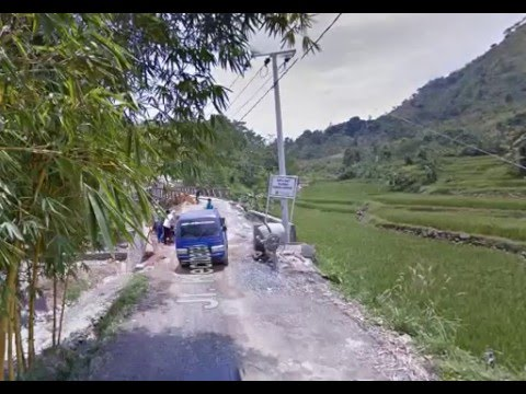 """Perjalanan ke Curug """"Leuwi Hejo"""" Bogor dengan Google Street View"""
