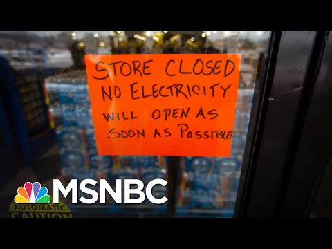Politicians Play The Blame Game As Texans Huddle In The Dark   The 11th Hour   MSNBC