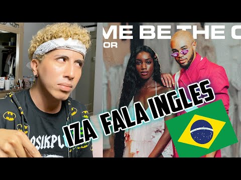 IZA e Maejor - Let Me Be The One REAÇÃO 🇧🇷
