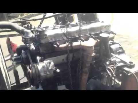ฟิต Isuzu 6BD1 - YouTube