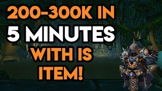 World Of Warcraft Gold Farm 200-300k in 5 Minutes