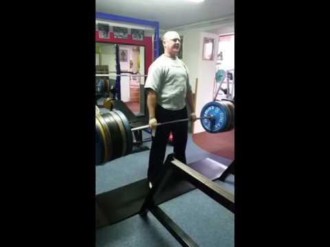 Mrtvý tah - David Novotný 200kg (15.4.2016)